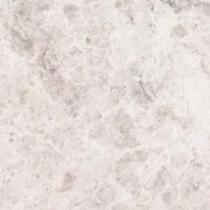 silvery white geborsteld marmer vloertegel